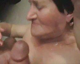 Vanha mies vittuile naapurin kuuma nuori vaimo - osa 1 kasvojen