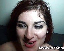 kaunis lesbo pari valtava dildo ja nyrkki